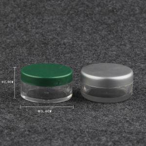 Clear Cosmetic Jar