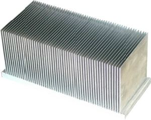 High Power LED Aluminum Extrusion Heat Sink pictures & photos