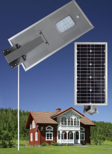 15W High Lumen Quality LED Garden Solar Street Light with Induction pictures & photos