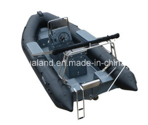 Aqualand 18feet 5.4m Rib Patrol Boat /Rigid Inflatable Military Boat (RIB540A) pictures & photos