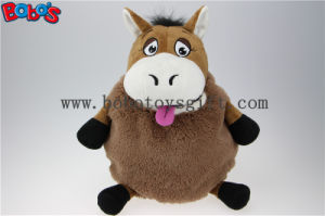 "15.8""Funny Tan Donkey Baby Travel Bag Plush Kids Backpack as Baby Gift Bos1222 pictures & photos"