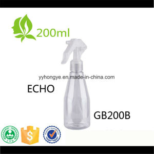 200ml Plastic Clear Cosmetic Packaging Trigger Sprayer Pump Echo Bottle/Garden Tool pictures & photos
