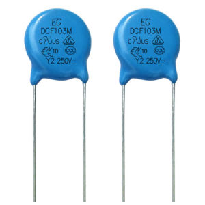 AC Ceramic Capacitor, Safety Capacitor Dcf Y2/X1