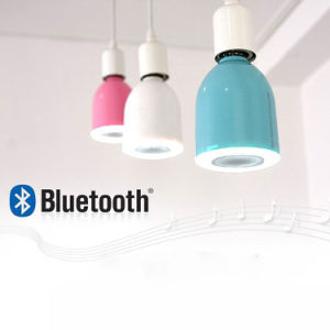 Audio Light Bulb LED Lamp Bluetooth Mini Speaker with Remote for Ios Android pictures & photos