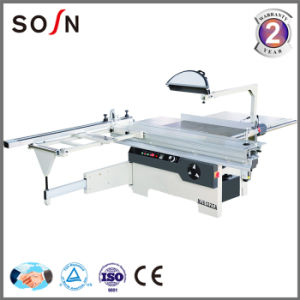 Wood Cutting Machine Horizontal Panel Saw with Sliding Table pictures & photos