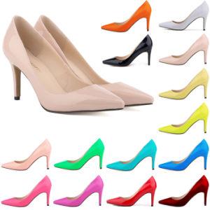 Classics Simple MID-Heel Women Work Shoe