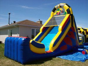 Commercial Inflatable Water Slide Bounce House Jump Water Slide pictures & photos