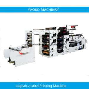 Ybs-570 Flexo Printing Machine with Three Die Cutting Stations