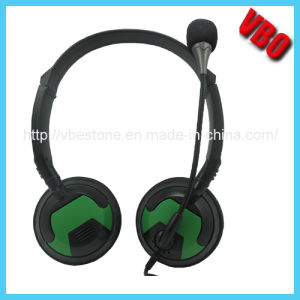 Foldable Headphone with Mini Jack Microphone for Computer, PC Headset pictures & photos