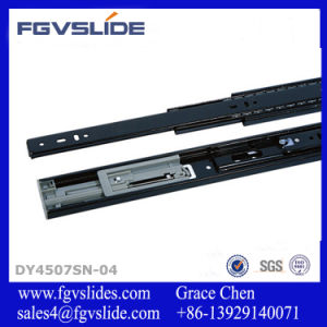 45mm Full Extension Soft Closing Cabinet Hardware Automatic Closing Drawer Runner for Drawer pictures & photos