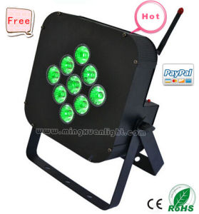 Wireless DMX PAR LED 12W RGBWA with Battery pictures & photos