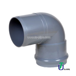 UPVC 90° Elbows M/F DIN Pn10 (Rubber Ring) pictures & photos