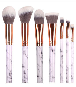 2017 Hot Selling Mermaid Style 7 Piece 5 Styles Good Quality Multifunctional Cosmetic Brush Set pictures & photos