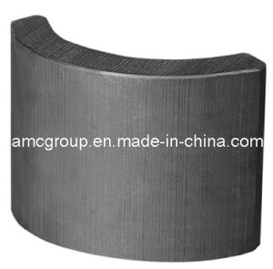 High Performance Ferrite Motor Arc Magnet pictures & photos