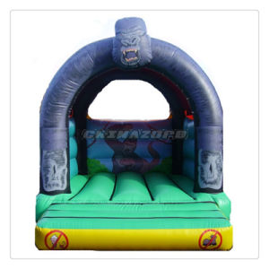 Horrible King Kong Theme Painted Inflatable Bouncy Jumper for Sale