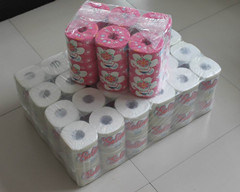 Toilet Tissue Roll 12rolls One Bag pictures & photos