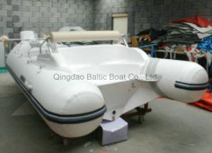 Small Fiberglass Rubber Boats Hypalon Dinghy 420 Ce