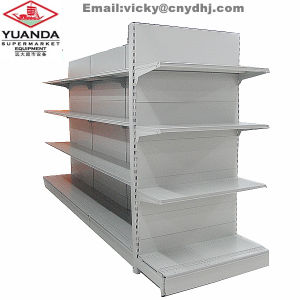 Standard Double Side Supermarket Display Shelf Form CE Manufacturer pictures & photos