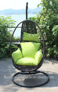 Aluminum Base Outdoor Rattan Hanging Chair pictures & photos