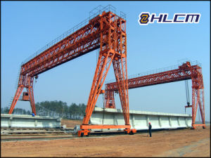 Precast Gantry Crane (HLCM-12) with SGS pictures & photos