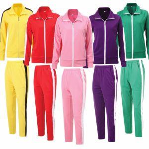 Wholesale Women Gym Casual Jogging Training Track Suit pictures & photos