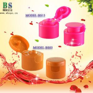 24/410 Shower Gel Plastic Flip Top Cap pictures & photos