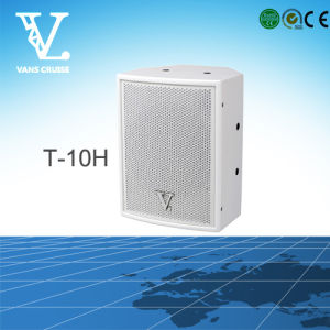 T-10h 10′′ OEM Made in China Coaxial Wall Speaker pictures & photos