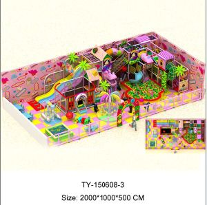 High Quality Candy Theme Indoor Playground (TY-150608-3) pictures & photos