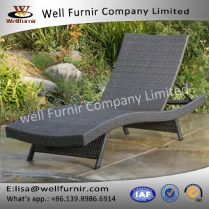 Well Furnir T-091 Adjustable Patio Outdoor PE Rattan Lounges pictures & photos