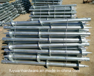 Ground Screw Anchor for Solar Panel Mounting System pictures & photos