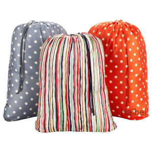 Dots/Stripes Polyester Laundry Bag (HBLB-13) pictures & photos