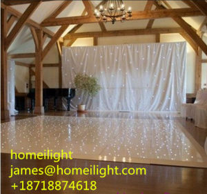 Portable White LED Dance Floor in Wedding, Party, Festival pictures & photos