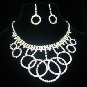 Wedding Necklace and Earrings