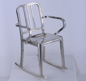 Stainless Steel Metal Rocking Office Waiting Chair (JH-S14)