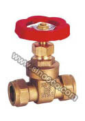 Brass Equal Gate Valve with High Quality pictures & photos