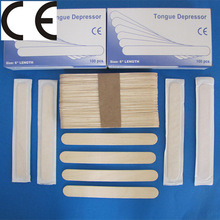 Adult/Children Use Grade a and B Birch Wooden Tongue Depressor pictures & photos