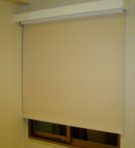 Motorised Electric Roller Blind Hotel White Sunscreen, Anti-UV pictures & photos