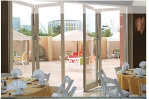 Aluminium Bifold Door (Model 04)