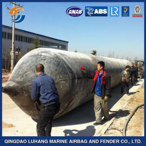 Inflatable Ship Launching Marine Rubber Airbag