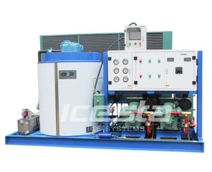 Icesta New Design Flake Ice Machine with Remote Control (IF10t-R4A) pictures & photos