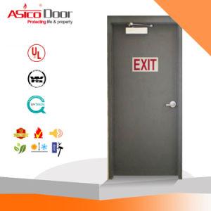 Exit Emergency Steel Fire Door Panic Push Bar Fire Proof UL Door pictures & photos