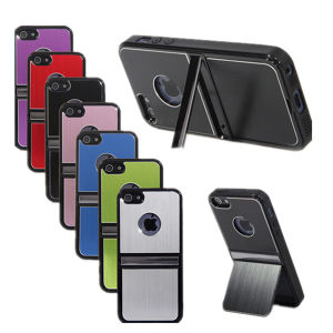 Metal Case with Stand for iPhone 5s pictures & photos