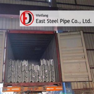 Hot Dipped Galvanized Steel Beam for Highway Guardrails pictures & photos
