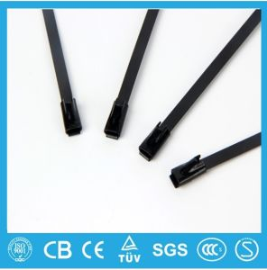 China Alibaba Supplier Hot Product Wholesale Ball Lock Stainless Steel Cable Tie Free Sample pictures & photos