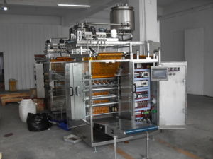 Rotor Pump Control Catsup Four-Side Sealing and Multi-Line Packing Machine pictures & photos