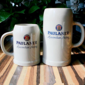 German Ceramic Beer Mug 650ml Ceramic Beer Cup pictures & photos