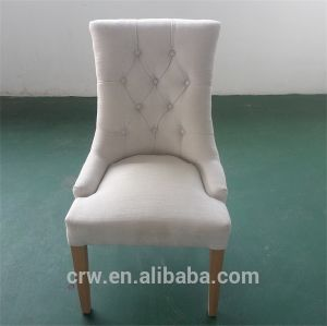 Rch-4015 Popular Leisure High Back Upholstered Chairs with Button pictures & photos