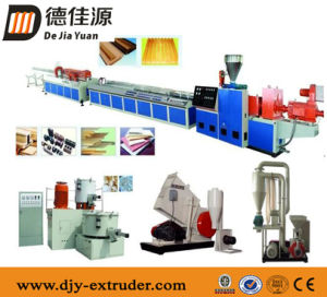 Twin Conical Screw Extruder for PVC Decorative Sheet of Sjz92/188