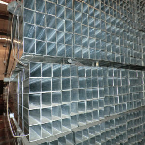 Steel Frame Use Galvanized Square Steel Pipe pictures & photos