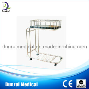 Hospital Stainless Steel Baby Crib (DR-312B)